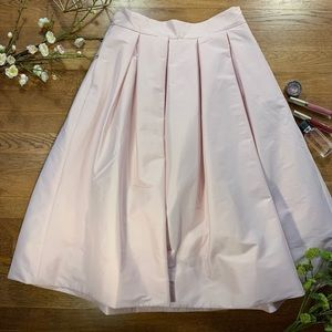 White House   Black Market Pink Midi Skirt